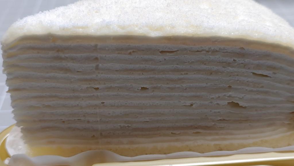 セブンイレブンのレアチーズミルクレープ