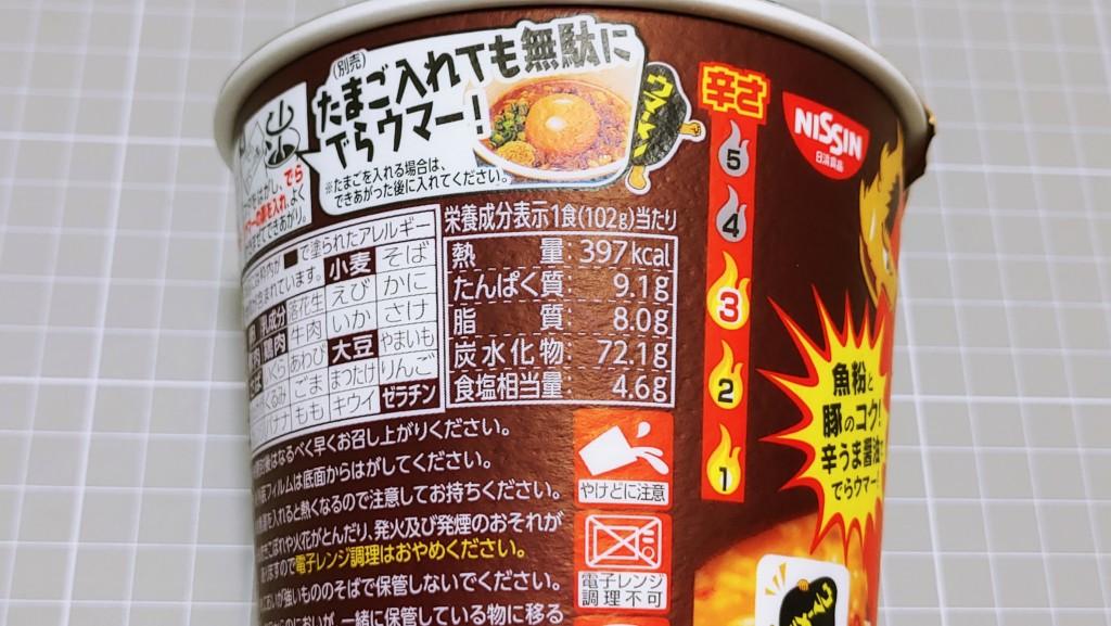 日清 台湾まぜ飯 ウマーメシのカロリー