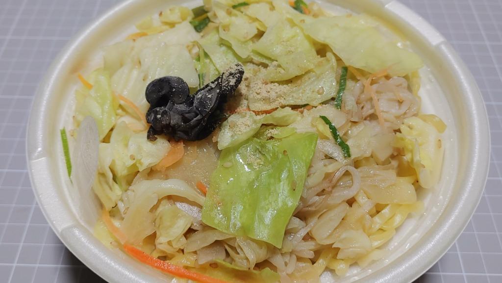 セブンイレブン 野菜タンメン