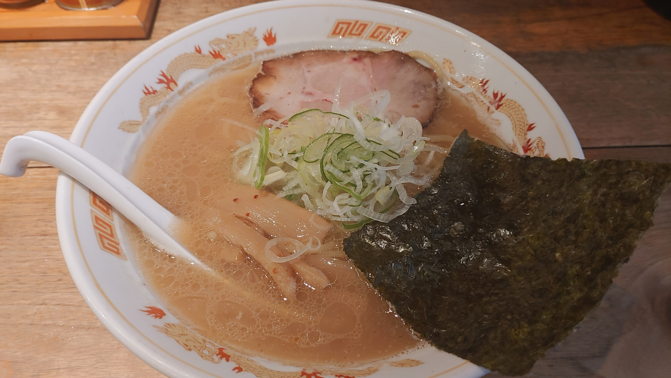 北海道ラーメン 味源熊祭 おくむら 旭川醤油ラーメン
