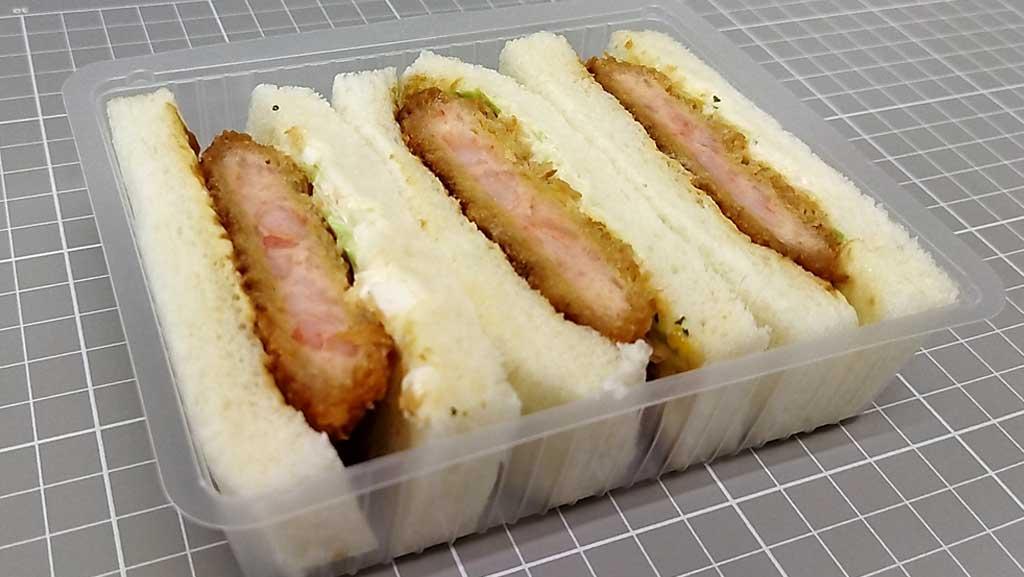 ファミリーマート 贅沢サンドBOX 旨みぎっしり海老カツサンド