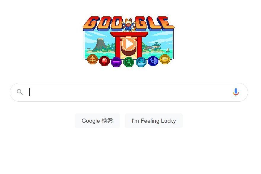 Googleのドゥードゥル、2021オリンピックパラリンピック仕様