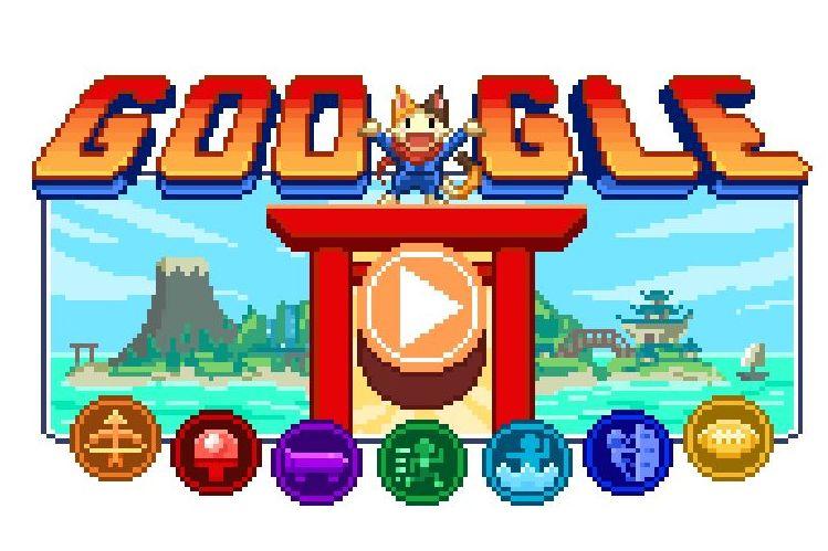 Googleのドゥードゥル、拡大したらやっぱり2021オリンピックパラリンピック仕様のようです